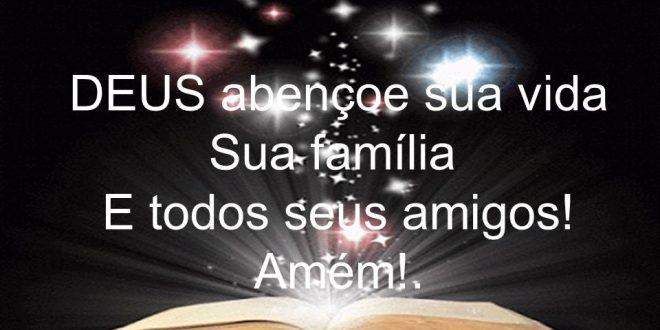 Querido Deus Em Tuas Mãos Coloco Minhas Preocupações: DEUS Abençoe Você Em Toda Sua Caminhada!